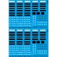 43.001 - Planche 1 immatriculations 1/43eme