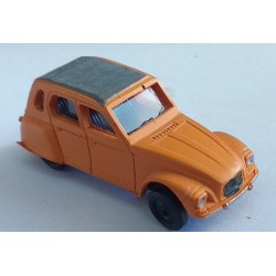 cho6004- dyane citroen- monté ready orange - 1/87eme Ho