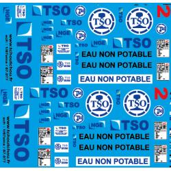 87.077 - TSO citerne d'eau et TSO NGE G1206 - 1/87eme