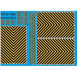 87.102 : zebra jaune/ Noir 1/87eme