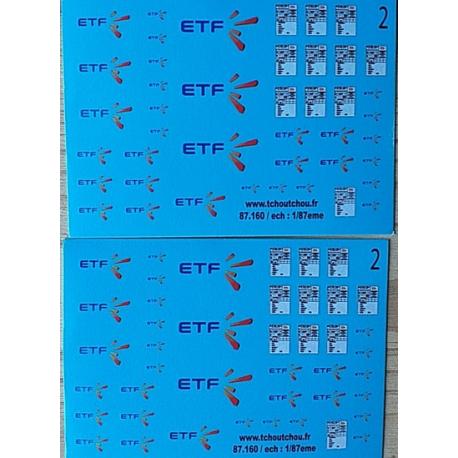 87.160 - ETF - 2 - 1/87eme HO