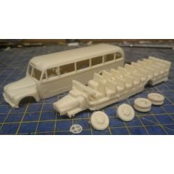 CHO1600 - citroen autocar T55 1/87eme Ho