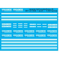 87.159 - gendarmerie 2 1/87eme
